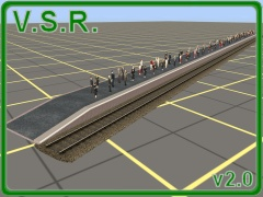 This is a ground up rebuild to TS09+ standards of the VSR 'bare station platform'. It is Error and Warning free in TS2009, TS2010 and TS12. It has a new mesh, a high res texture with normal mapping, and uses the '.m.tbumpenv' material. It should work in any version from TS2009SP1 upwards.