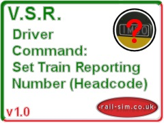 Basic version of the Set Train Reporting Number Command.